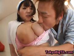Huge boobed japanese babe fucked part2