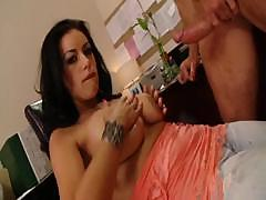 Angelica Raven is horny and wants to fuck a hard cock deep