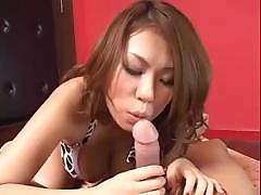 Cute Asian honey Romihi Nakamura is horny today