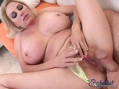 Busty Penny Porsche is a blonde who loves to suck and fuck cock