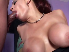 Breasted Cute Hoe Sucks A Dick Incredibly Nice & Gets Facial...