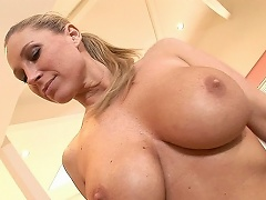 Devon Lee is another blonde with gargantuan tits.  its a good thing...