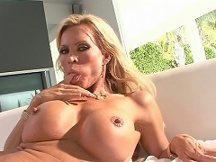 Amber Lynn is well into her forties, but her tits are as perky as a...