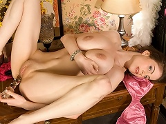 Lillian Faye is one of the all-time slimmest naturally-big boobed...