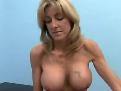 Busty blond milf Lexi Carrington must be pushing 50, but she is still...