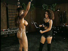 Black Dominatrix Loves To Beat Her Slave scene