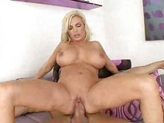 Diamond Foxxx rides and fucks on her side