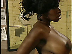 Vanessa Blue - Busty Black Babe Anal