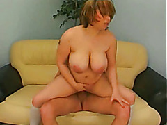 Horny Fat Chubby GF love sucking and riding cock, 2