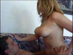 Busty MILF Whores Riding Boners