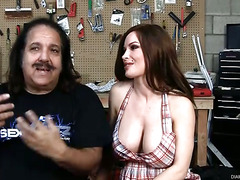 Annie Dickado Hangs Out with Ron Jeremy