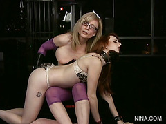 Lesson #159 - Audrey Lords and Nina Hartley