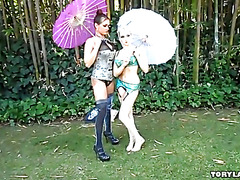 Tory Lane and Christie Stevens - BTS and Outtakes