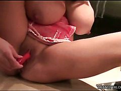 Brandy Talore Takes a House Break To Masturbate