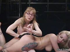 Lesson #1 - Adrianna Nicole and Nina Hartley