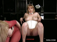 Lesson #137 - Anna Mills Joins Nina Hartley