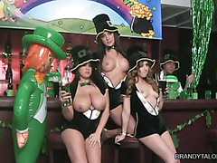 Brandy Talore and Friends - Behind the Scenes St Pattys