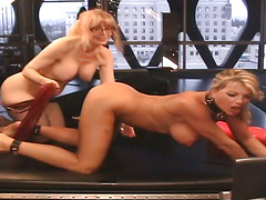 Lesson #151 - Nina Hartley and Vicky Vette