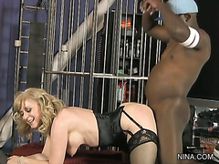 Lesson #162 - Nina Hartley Rides a Bone