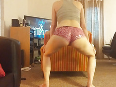 more booty shaking practice for whore