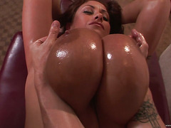 big titty massage scene 2