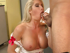 Brooke Haven plays a horny nurse