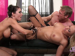 Claudia Valentine Jessica Jaymes Threeway †-†Movies