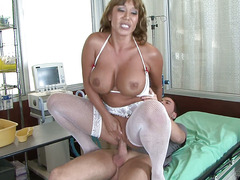 Busty Mom Ava Devine - Big Breast Nurses #04, Scene #04