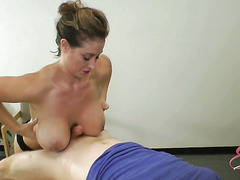 Dirty Nurse Eva Notty Tit Fuck and Ball-Bust†-†Movies