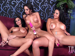Trinity St Clair in Twat Toy Fest with Missy Martinez and Ava Addams†-†Movies