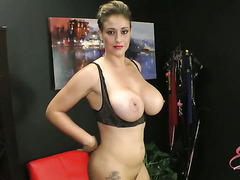 Eva Notty in Big Tits Strip Tease†-†Movies