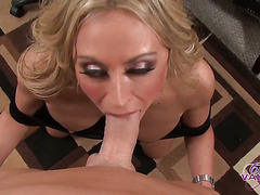 Claudia Valentine Sucks Bosses Cock†-†Movies