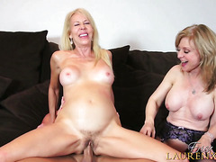 Erica Lauren Fucks Nina Hartley and Christian†-†Movies