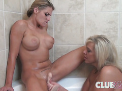 Charisma Cappelli in Bath Fun with Carey Riley†-†Movies