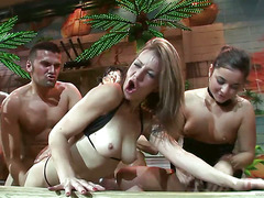 mad sex party: orgy island scene 2