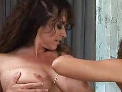Naturally Busty Lesbian Bitches Get Some Pussy Play