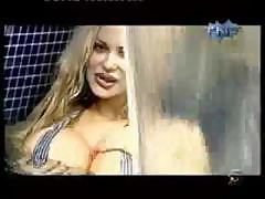 Sabrina Sabrok celeb biggest breast, swimming