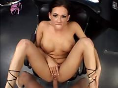 Anal cock riding makes Tory Lane a filthy champion