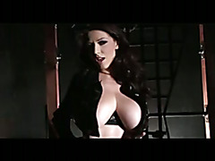 Latex Masturbation And Giant Tits