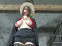 Whips Spanking Bondage A Huge Breast Lady Part 1
