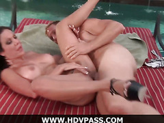 Hot Poolside Fucking With Amy Fisher