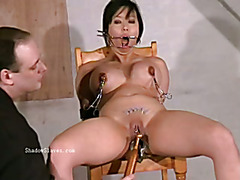 Asian needle bdsm of busty japanese Tigerr Juggs in extreme