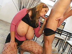 Terry Nova Sucking & Titty Fucking