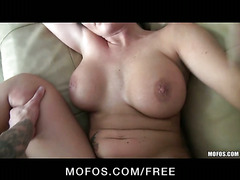 Mofos - Big-boobed brunette Lexis Ward caught cheating