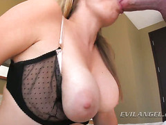 Adrianna Nicole is a nasty big blonde cock sucker!