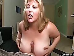 Busty blowjob and tit-fucking
