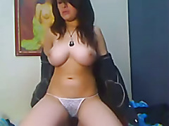 Amazing teen big tits on the webcam