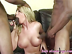 Barbie Cummings deepthroat and creampie hard session