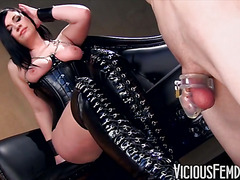 Slave Licks Boot Filth