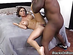 Krissy Lynn's ass is now property of the black man